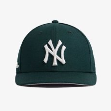 画像3: Aime Leon dore(エイメ レオン ドレ) × New Era (ニューエラ) LP 59Fifty Cap NewYork Yankees  Dark Green White ニューヨーク ヤンキース Kith ネイビー ホワイト (3)
