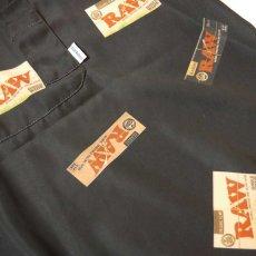 画像3: Interbreed(インターブリード) × RAW S/S Package Textile Shirts Black 半袖 柄シャツ 予約商品 (3)