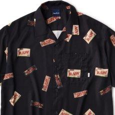 画像6: Interbreed(インターブリード) × RAW S/S Package Textile Shirts Black 半袖 柄シャツ 予約商品 (6)