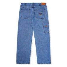 画像2: Royal Denim Pants Loose Fit Black Indigo Wash デニム パンツ ルーズフィット  (2)