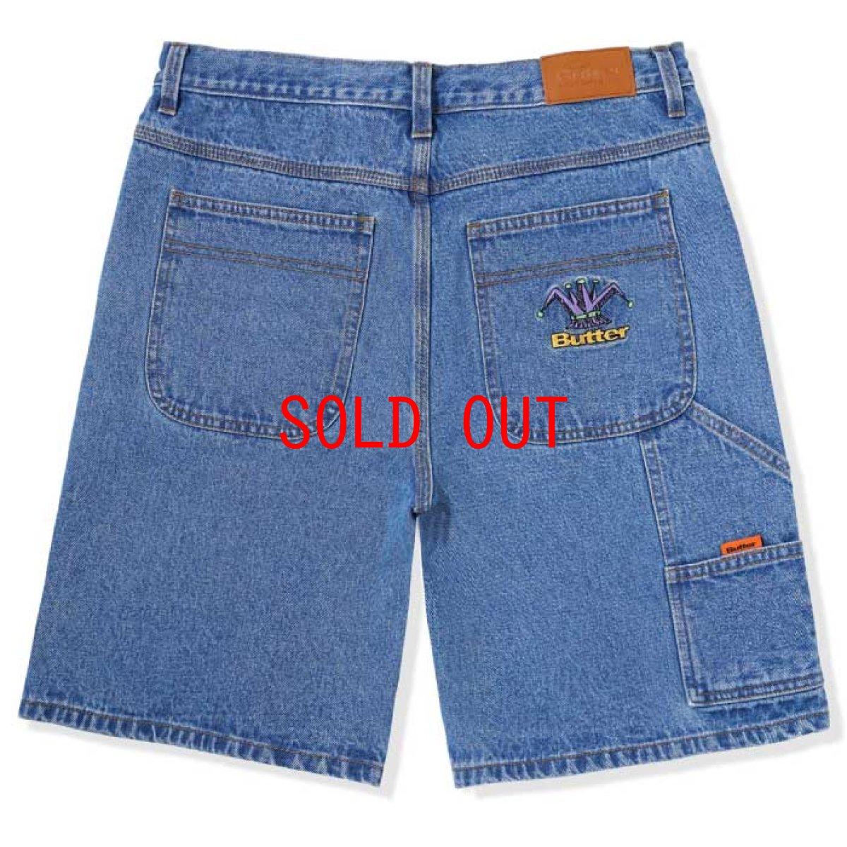 画像1: Royal Denim Shorts Loose Fit Black デニム ショーツ ルーズフィット  (1)