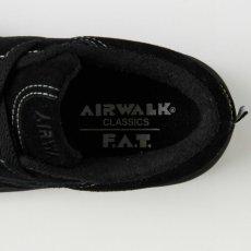 画像4: × Airwalk One Three Suede Black エアウォーク コラボ スニーカー ブラック  (4)