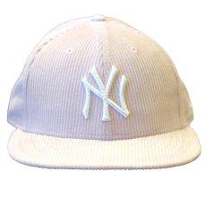 画像2: 【SALE】× Todd Snyder ( トッドスナイダー ) LP 59Fifty NY Yankees Logo Corduroy Fitted Cap フィッテッド コーデュロイ ゲーム オンフィールド Classic クラシック MLB 公式 Official (2)
