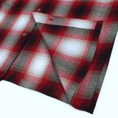 画像3: Ombre S/S Check Shirt 半袖 オンブレ チェック シャツ  (3)