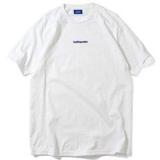 画像2: Small Logo S/S Tee 半袖 スモール ロゴ Tシャツ by Lafayette ラファイエット  (2)