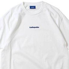 画像3: Small Logo S/S Tee 半袖 スモール ロゴ Tシャツ by Lafayette ラファイエット  (3)