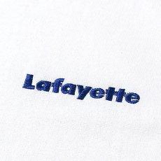 画像5: Small Logo S/S Tee 半袖 スモール ロゴ Tシャツ by Lafayette ラファイエット  (5)