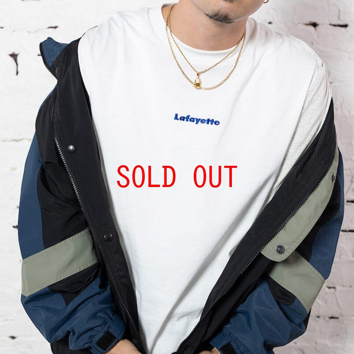画像1: Small Logo S/S Tee 半袖 スモール ロゴ Tシャツ by Lafayette ラファイエット  (1)