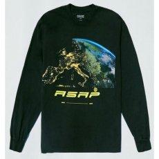 画像1: A$AP World Wide Horizon Official Rap Tee Black エイサップ A$AP ROCKY 長袖 Tシャツ オフィシャル ライセンス Official Rap (1)
