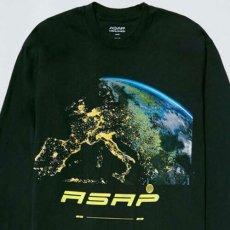 画像2: A$AP World Wide Horizon Official Rap Tee Black エイサップ A$AP ROCKY 長袖 Tシャツ オフィシャル ライセンス Official Rap (2)