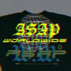 画像4: A$AP World Wide Horizon Official Rap Tee Black エイサップ A$AP ROCKY 長袖 Tシャツ オフィシャル ライセンス Official Rap (4)