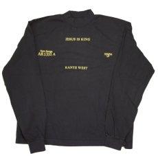 画像1: Official Mock L/S Tee by Kanye West カニエ・ウェスト Tシャツ モック 長袖 Tシャツ オフィシャル ライセンス Official Rap (1)