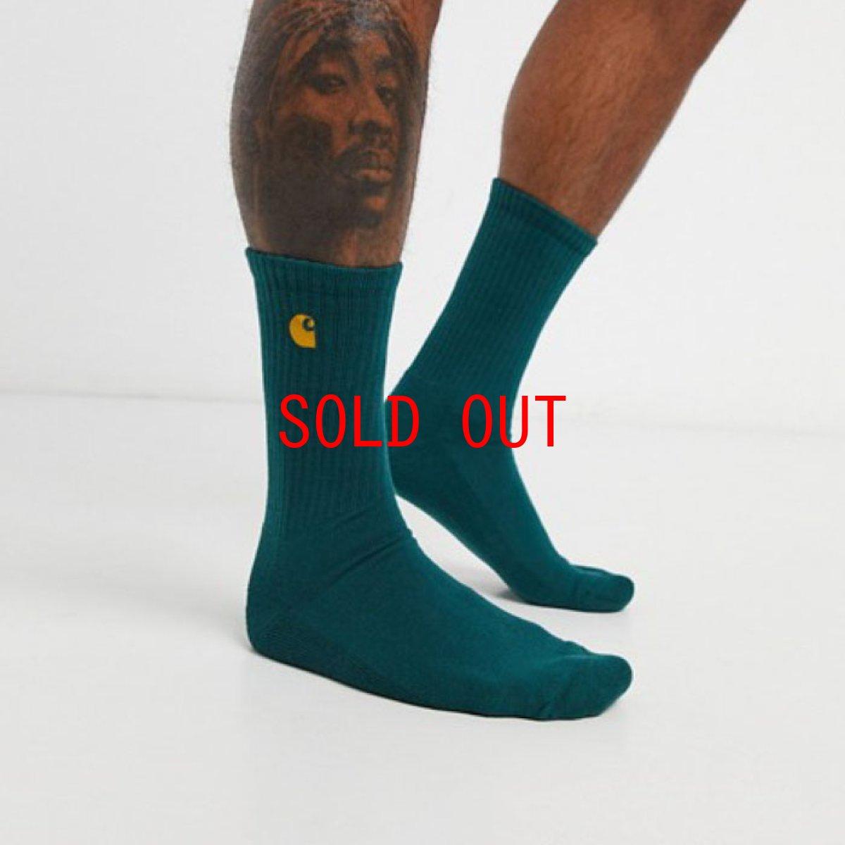 画像1: Chase Socks 靴下 One Point Logo ソックス (1)