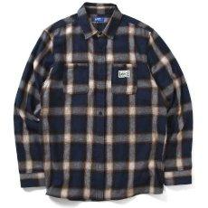 画像2: Workes Ombre L/S Flannel Shirt 長袖 フランネル シャツ by Lafayette ラファイエット  (2)