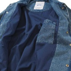画像4: Logo Washed Denim Coach Jacket コーチ ジャケット by Lafayette ラファイエット  (4)