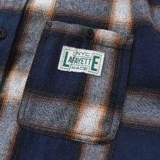画像5: Workes Ombre L/S Flannel Shirt 長袖 フランネル シャツ by Lafayette ラファイエット  (5)