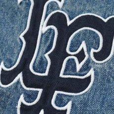 画像10: Logo Washed Denim Coach Jacket コーチ ジャケット by Lafayette ラファイエット  (10)