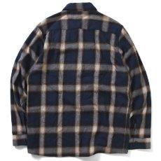 画像3: Workes Ombre L/S Flannel Shirt 長袖 フランネル シャツ by Lafayette ラファイエット  (3)