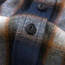 画像4: Workes Ombre L/S Flannel Shirt 長袖 フランネル シャツ by Lafayette ラファイエット  (4)
