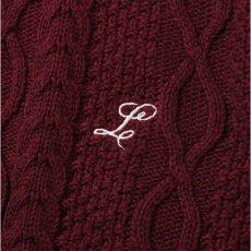 画像7: Cotton Cable Knit Sweater コットン ケーブル ニット セーター by Lafayette ラファイエット  (7)