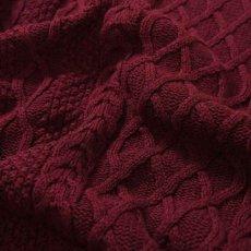 画像6: Cotton Cable Knit Sweater コットン ケーブル ニット セーター by Lafayette ラファイエット  (6)