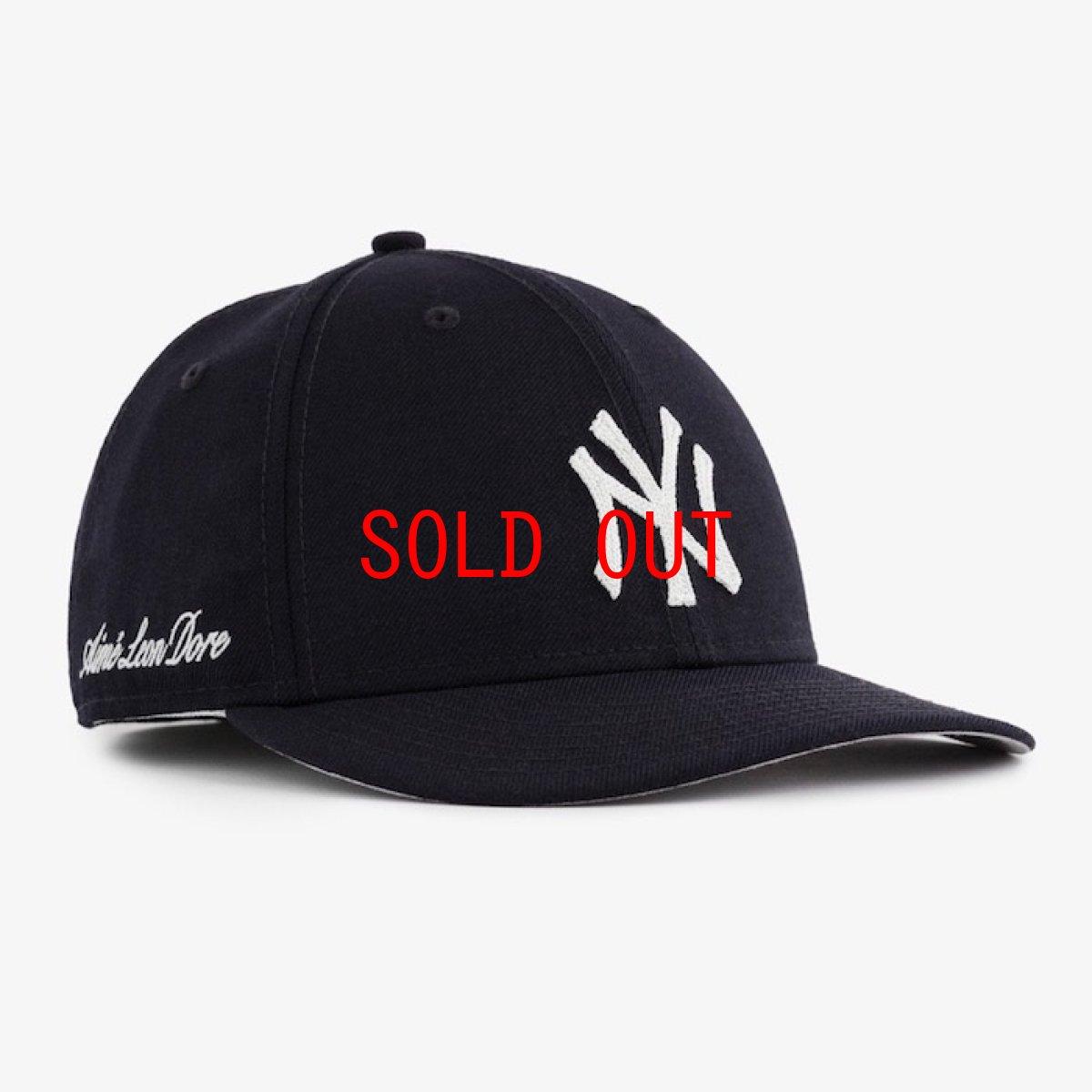 画像1: × Aime Leon dore(エイメ レオン ドレ) LP 59Fifty Cap NewYork Yankees Chain Stitch Navy ニューヨーク ヤンキース Kith ネイビー ホワイト (1)