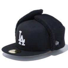 画像1: 59Fifty Los Angeles Dodgers Dog Ear Cap ドジャース ドッグ イヤー キャップ 帽子 (1)