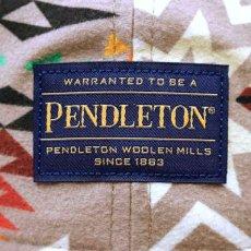 画像4: × Pendleton 9thirty Ball Cap ペンドルトン キャップ Plains Star Beige 帽子 (4)