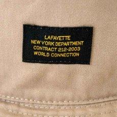 画像4: Military Label Bucket Hat ミリタリー バケット ハット キャップ 帽子 by Lafayette ラファイエット  (4)