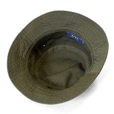 画像3: Military Label Bucket Hat ミリタリー バケット ハット キャップ 帽子 by Lafayette ラファイエット  (3)