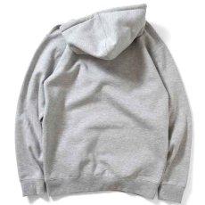 画像3: NY Radio Hooded Sweatshirt プルオーバー パーカー Heather Gray ヘザー グレー by Lafayette ラファイエット  (3)
