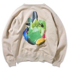 画像3: × Takayuki Yamada Fruit Crewneck Sweat Shirt クルー ネック スウェット by Lafayette ラファイエット  (3)
