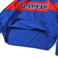 画像6: Classic Logo Hooded Rugby Jersey フード付き ラガー シャツ by Lafayette ラファイエット  (6)