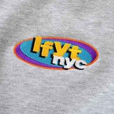 画像7: NY Radio Hooded Sweatshirt プルオーバー パーカー Heather Gray ヘザー グレー by Lafayette ラファイエット  (7)