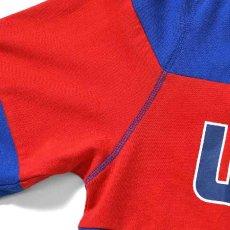 画像4: Classic Logo Hooded Rugby Jersey フード付き ラガー シャツ by Lafayette ラファイエット  (4)