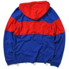 画像2: Classic Logo Hooded Rugby Jersey フード付き ラガー シャツ by Lafayette ラファイエット  (2)