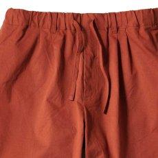 画像4: Relaxed Chino Trouser Pants チノ イージー パンツ タック パンツ Burgundy Black (4)