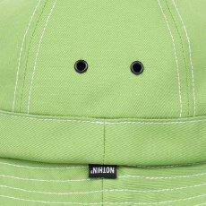 画像3: Organic Cotton Bell Hat Lime Green Metro オーガニック コットン ベル メトロ ハット 帽子 (3)