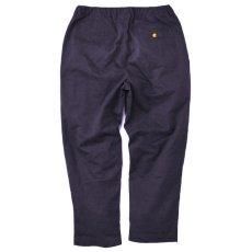 画像3: Relaxed Chino Trouser Pants チノ イージー パンツ タック パンツ Burgundy Black (3)