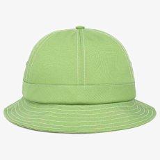 画像4: Organic Cotton Bell Hat Lime Green Metro オーガニック コットン ベル メトロ ハット 帽子 (4)
