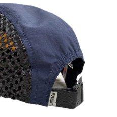 画像4: Side Mesh Nylon 5 Panel Cap Multi Black サイド メッシュ ナイロン パネル キャンプ ジェット キャップ 帽子  (4)