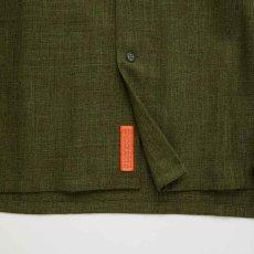 画像5: Workskin S/S Shirt Olive Green 半袖 オーバーサイズ シャツ (5)
