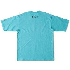 画像3: Live One S/S Tee Turquoise Blue Black White オーバーサイズ Tシャツ (3)