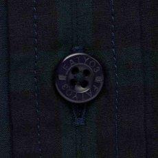 画像4: Billochek S/S Check Shirts Green Navy Black White オーバーサイズ チェック ブロード シャツ タータン チェック (4)