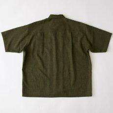 画像3: Workskin S/S Shirt Olive Green 半袖 オーバーサイズ シャツ (3)