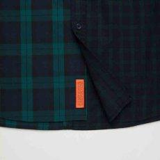 画像5: Billochek S/S Check Shirts Green Navy Black White オーバーサイズ チェック ブロード シャツ タータン チェック (5)