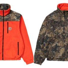 画像1: Denby Reversible Jacket Camo Combi Orange リバーシブル ジャケット (1)