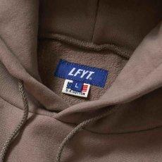 画像4: Rose Logo US Cotton Hooded Sweatshirt ローズ ロゴ プルオーバー スウェット パーカー Sand サンド by Lafayette ラファイエット  (4)
