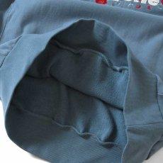画像4: Rose Logo US Cotton Hooded Sweatshirt ローズ ロゴ プルオーバー スウェット パーカー Slate Blue スレート ブルー by Lafayette ラファイエット  (4)