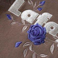 画像6: Rose Logo US Cotton Hooded Sweatshirt ローズ ロゴ プルオーバー スウェット パーカー Sand サンド by Lafayette ラファイエット  (6)